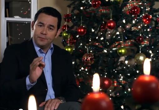 Jimmy Morales Navidad