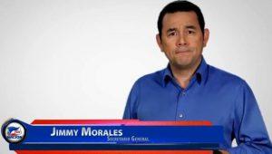 Jimmy Morales Entrevistado