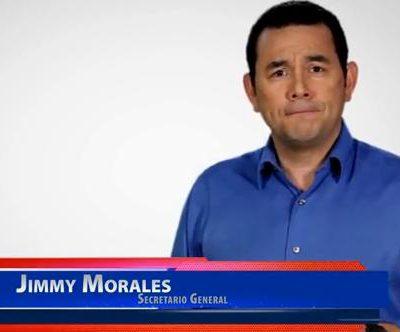 Entrevista Realizada al Candidato Presidencial Jimmy Morales