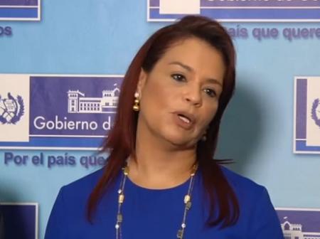 Roxana Baldetti No a la Alcaldía