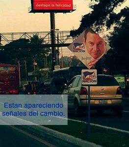 Publicidad Jimmy Morales