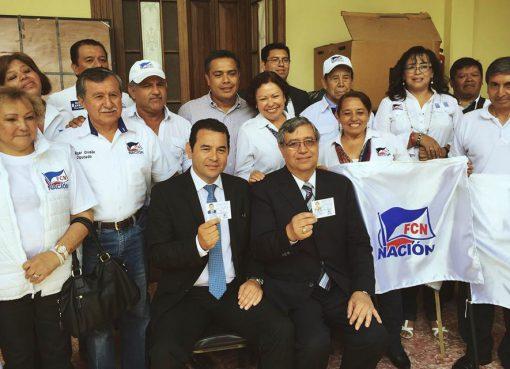 Binomio Presidencial FCN Credenciales
