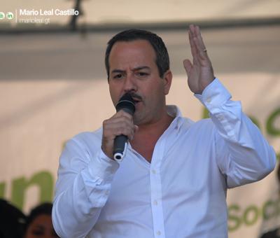 Mario Leal Castillo de la UNE niega las acusaciones Edgar Barquín del partido Líder