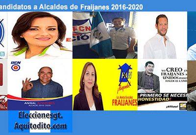 ENCUESTA: Sí Hoy Fueran las Elecciones Porquién Votarías para Alcalde de FRAIJANES?