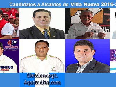 ENCUESTA: Porquién Votarías para Alcalde de Villa Nueva?