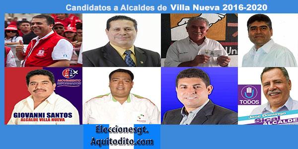 Candidatos a la Alcaldía de Villa Nueva