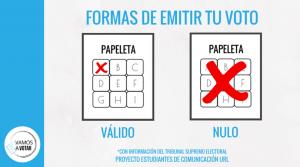 Formas de Emitir tu Voto