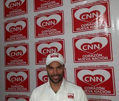 Jean Pierre recibe su credencial y busca ser diputado por Huehuetenango