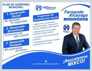 Plan de Gobierno Municipal Fernando Alcayaga