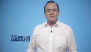 Alejandro Giammattei publica un video de agradecimiento a todos los que votaron por él