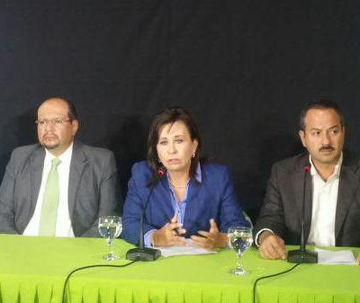 Sandra Torres no descarta apoyo de miembros del Partido Líder
