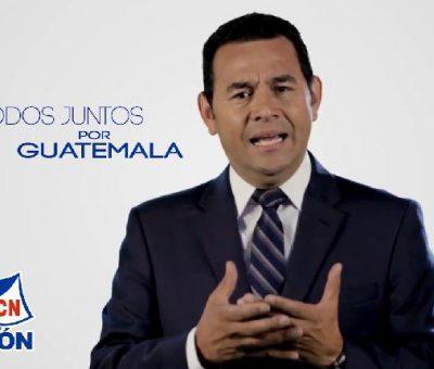 Jimmy Morales Nuevo Presidente de Guatemala Período 2016-2020