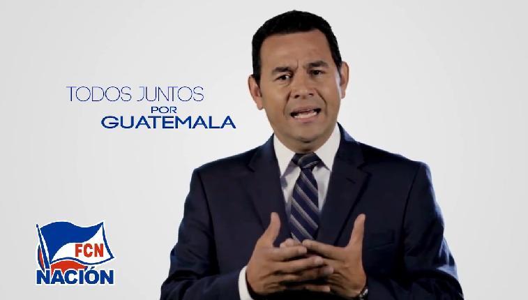 Mensaje de Agradecimiento Jimmy Morales