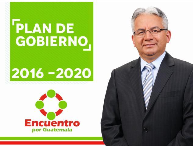 Plan de Gobierno de Encuentro por Guatemala (EG)