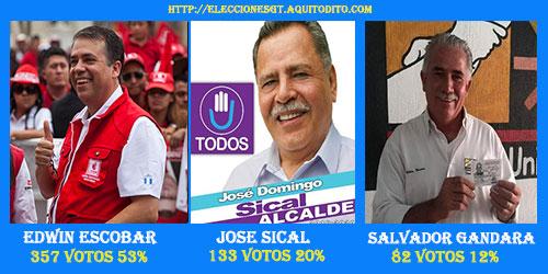 Resultados de la Encuesta para la Alcaldía de Villa Nueva.