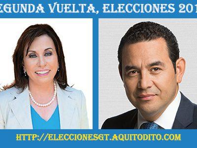 ENCUESTA: Sandra Torres o Jimmy Morales Porquien vas a votar??