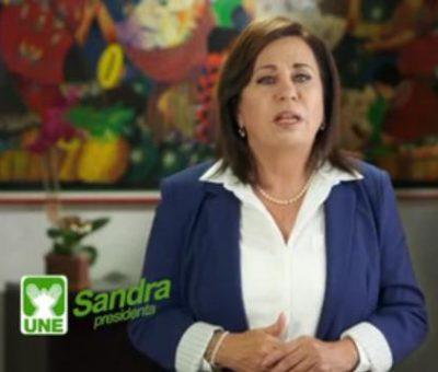 Sandra Torres agradece a Guatemala en esta campaña 2015