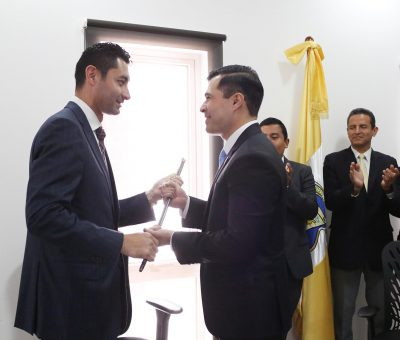 Neto Bran el Nuevo Alcalde de Mixco ya empezo a Trabajar