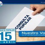 Consulta Popular 15 de Abril