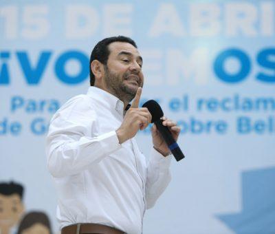 "#ConsultaPopular: ""Debemos luchar por lo que nos pertenece"", asegura Presidente de Guatemala"