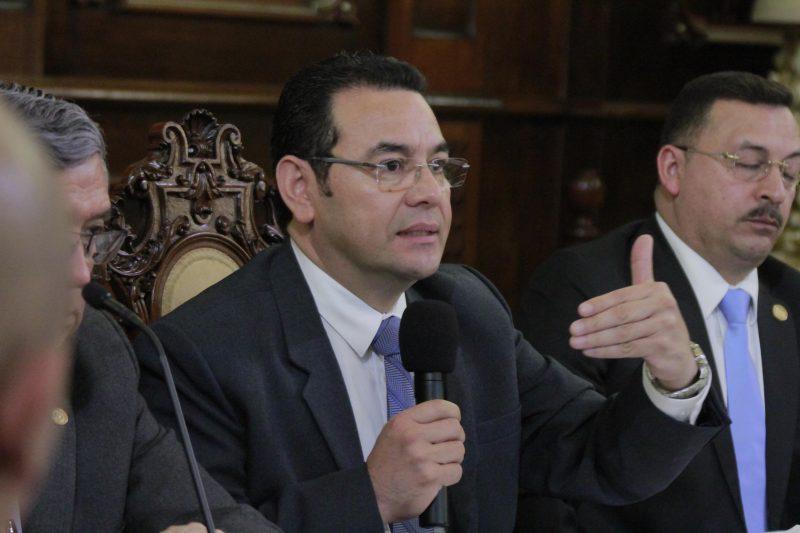 Jimmy Morales Pide Elecciones 2019 Libres