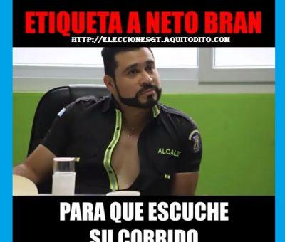 ¿Ya escuchaste el nuevo corrido que la Banda Código 502 le ha dedicado al Alcalde de Mixco Neto Bran?