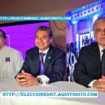 Binomio Presidencial Fredy Cabrera y a Ricardo Sagastume,