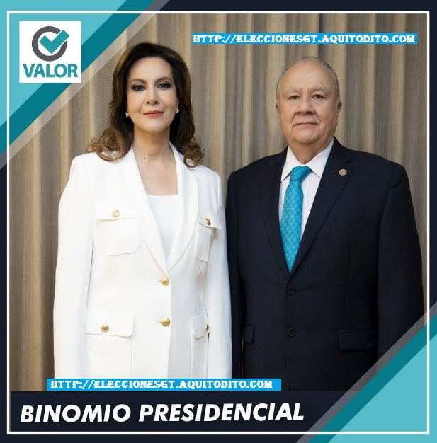 Partido Valor Proclama a Zury Ríos y Molina Barreto Como su Binomio Presidencial