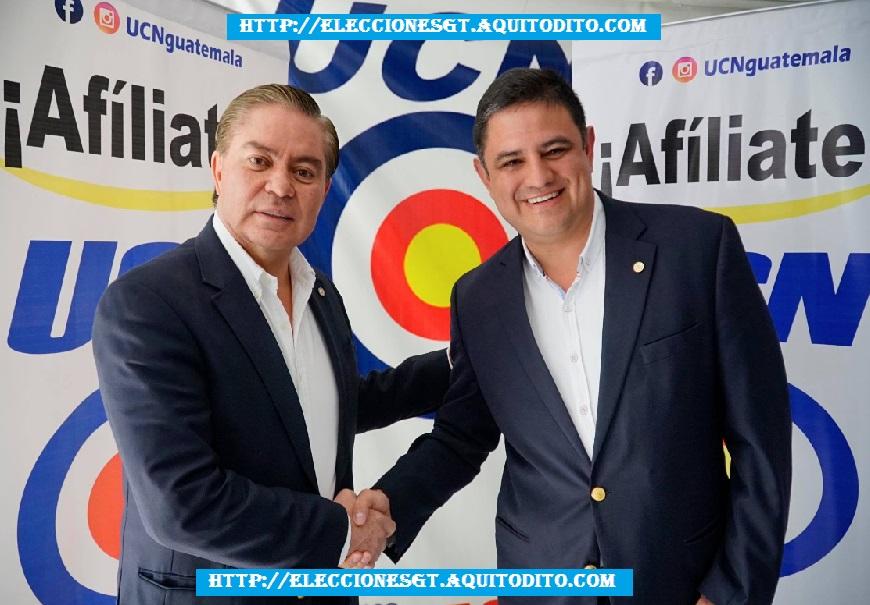 Mario Estrada junto a Javier Castillo