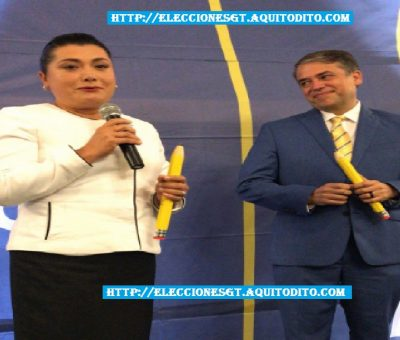 El Partido Prosperidad Ciudadana Proclama a su Binomio Presidencial Edwin Escobar y Blanca Odilia Alfaro