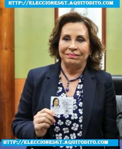 El Ministerio Público pide retirar inmunidad a Sandra Torres