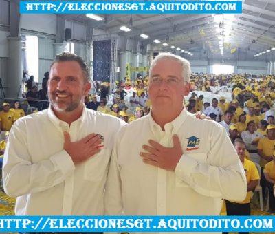 Roberto Arzú Proclamado Candidato Presidencial con el Partido PAN y Podemos para las Elecciones 2019