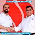 Binomio Presidencial Amílcar Rivera y Erico Can Saquic