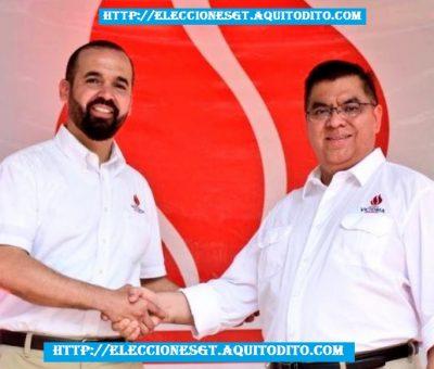 Partido Victoria Proclama a su Binomio Presidencial Amílcar Rivera y Erico Can Saquic Elecciones 2019