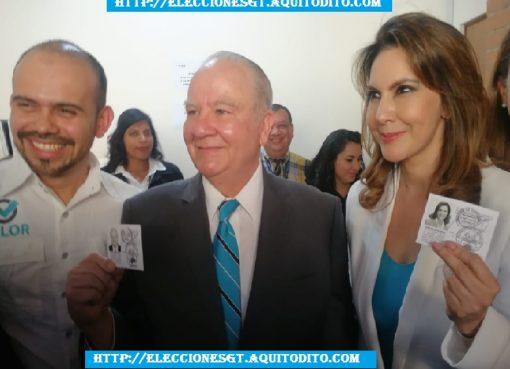 Binomio Presidencial del Partido VALOR Recibieron sus Credenciales para las Elecciones 2019