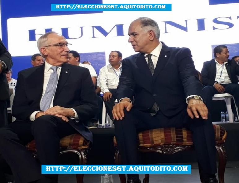 Edmond Mulet y Jorge Pérez