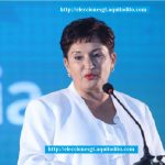 Thelma Aldana se inscribió como candidata presidencial