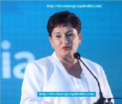 Thelma Aldana se inscribió como candidata presidencial a media noche Elecciones 2019