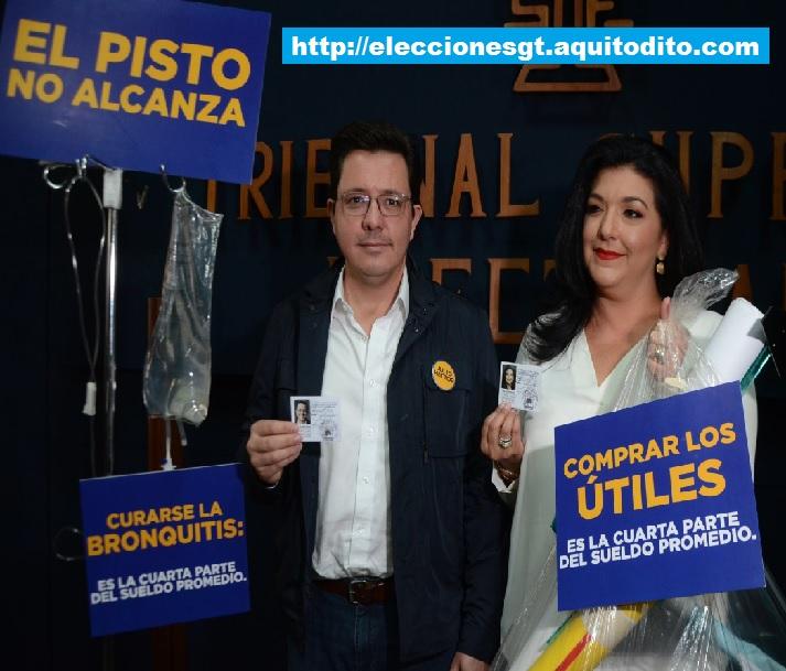 Julio Héctor Estrada Candidato Presidencial