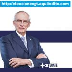 Edmond Mulet Candidato Presidencial por el Partido Humanista