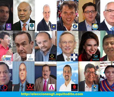 ENCUESTA: ¿Sí Hoy fueran las elecciones de Guatemala 2019, Por quien Votarías?