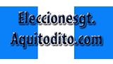 Logo Elecciones en Guatemala