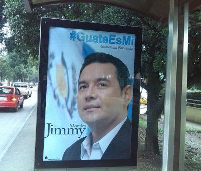 Jimmy Morales de Actor a querer ser Presidente de Guatemala