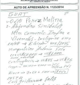Alejandro Sinibaldi Supuestamente Recibio Dinero de Petrobras