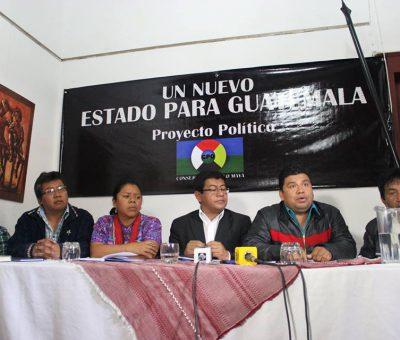 Consejo de los Pueblos Mayas Podrían Crear un Nuevo Partido Político