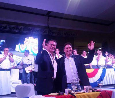 Partido Unión del Cambio Nacional (UCN) Presento a Su Binomio Presidencial