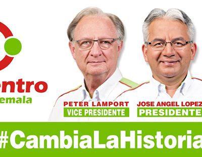 El Partido Encuentro por Guatemala presenta a su Binomio Presidencial