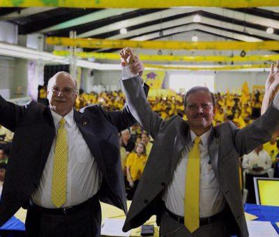 Juan Gutiérrez y Manuel Alfredo Marroquin Binomio presidencial del PAN