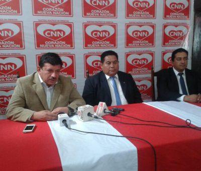 Partido CNN declina de las Elecciones 2015 y apoyará a Manuel Baldizón