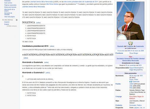 Manuel Baldizón victima de ataque